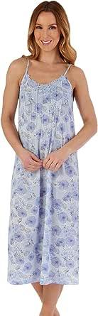 Slenderella ND55110 Women's Floral Nightdress