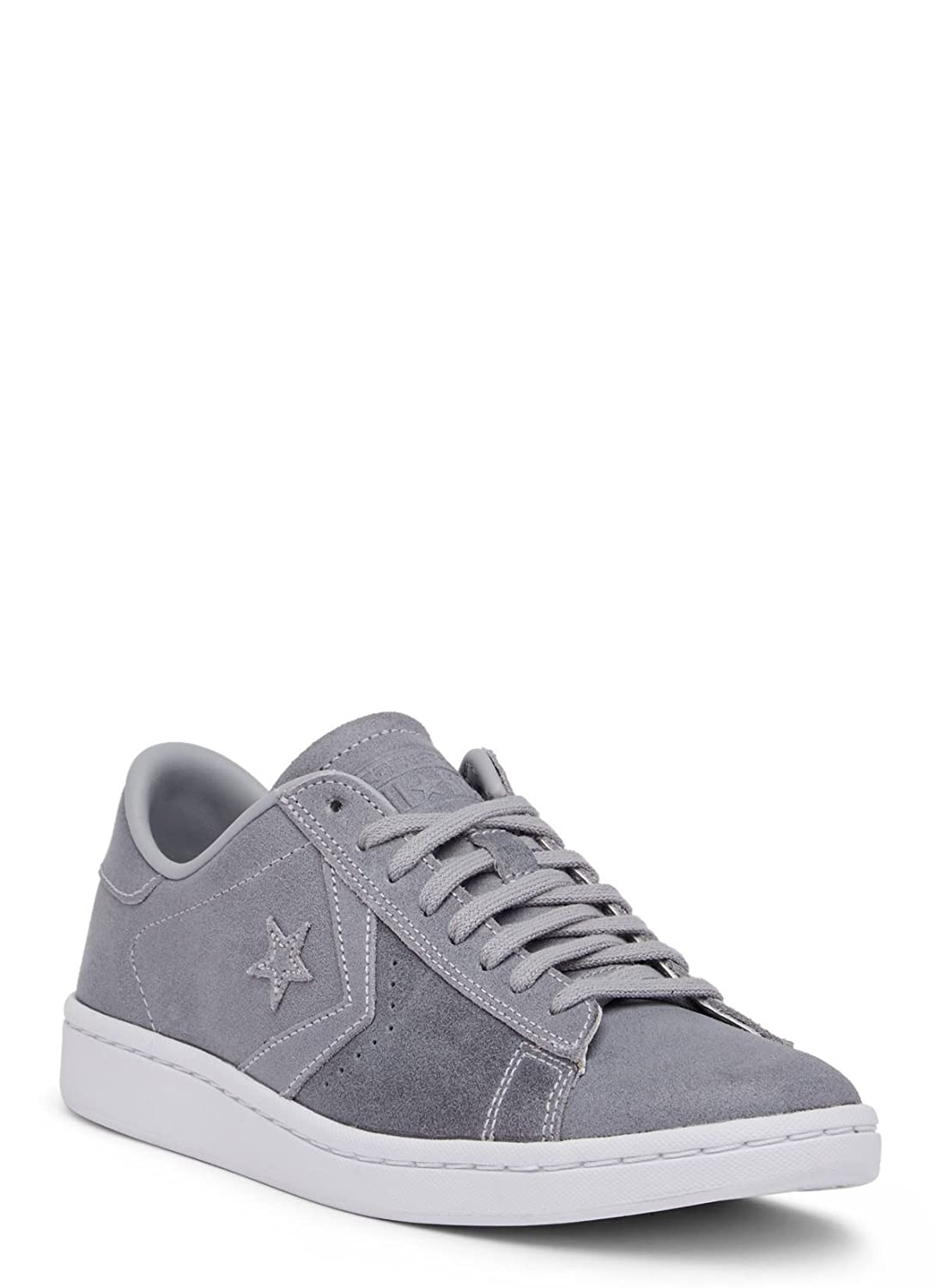 Converse Womens Pro Leather LP Sneaker B01N2WBQGH 10 B(M) US|Wolf Grey/Wolf Grey