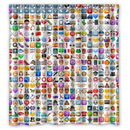 Computer Emojis Creative Window Coverings