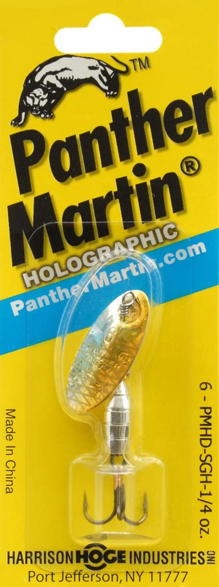 Panther Martin Deluxe Holographic Fishing Spinner PMHD_6_SGH Deluxe Holographic Fishing Spinner Silver/Blue