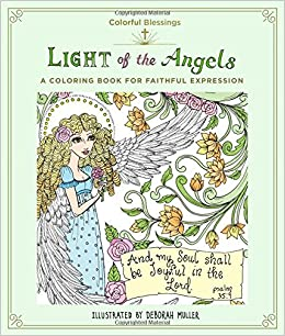 Amazon.com: Colorful Blessings: Light of the Angels: A Coloring ...