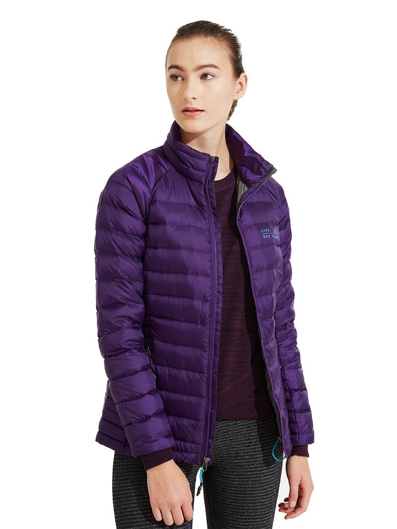 Live Out There OUTERWEAR レディース B076TBXPF1 M アサイー アサイー M