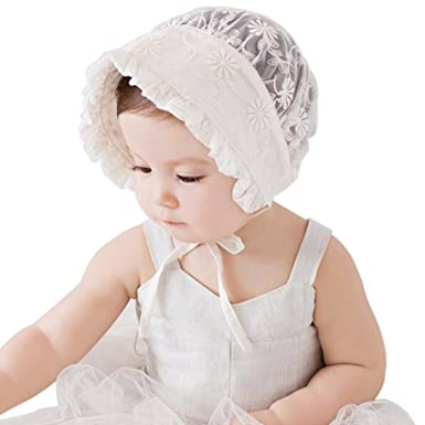 Baby Girl Infant Newborn Kids Cute Lace Hat Cap Beanie Bonnet Hats Hair