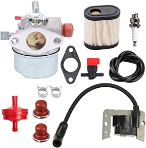 Trustsheer 640350 640271 640303 Carburetor for Tecumseh LEV100 LEV105 LEV120 LV195EA LV195XA Toro 20016 20017 20018 6 6.25 6.5 6.75 HP Recycler Lawnmower Engine Carb