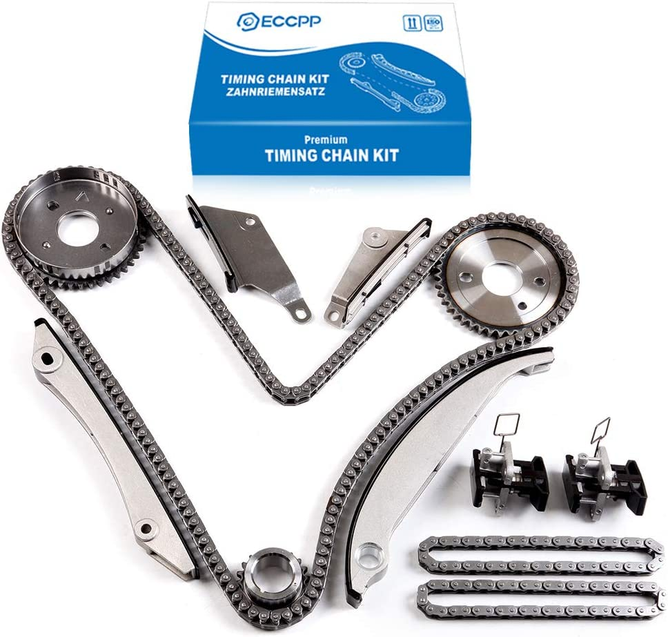 ECCPP Timing Chain Kit fits for 2005-2006 300 Concorde Intrepid Sebring Dodge Charger 2.7L 9-0397SA