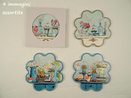 Sottopentola Ceramica Fiore 4 assortiti D20 Cm accessori cucina ...