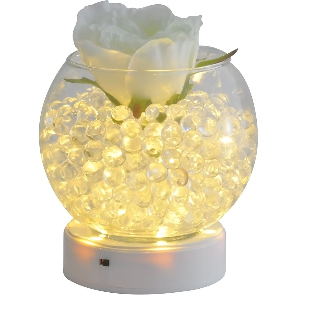 vase lighting. Amazon.com: Kitosun 4inch Round LED Base Vase Light With 9 Super Bright Leds For Centerpiece Lighting Decoration Operated By 3aa Batteries Warm White
