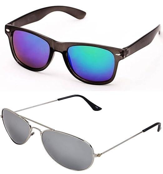 Combo Blue Sunglasses Mercury Sheomy Wayfarer And XZiOkuP