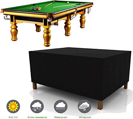 SJMDZZ 7/8/9 Pies Oxford Tela Funda de Mesa de Billar Snooker ...