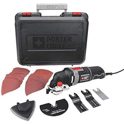 a952d745ef8 PORTER-CABLE PCE605K 3-Amp Corded Oscillating Multi-Tool Kit with 31  Accessories