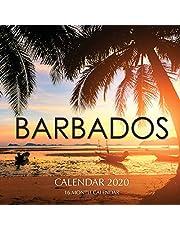 Barbados Calendar 2020: 16 Month Calendar