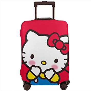 Cute 3D Flower Pattern Luggage Protector Travel Luggage Cover Trolley Case Protective Cover Fits 18-32 Inch