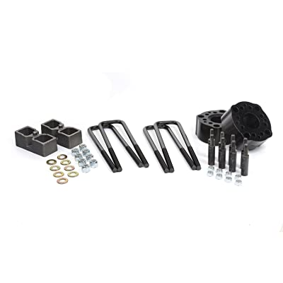 """Daystar, Toyota Tundra 3"""" Lift Kit, fits 2007 to 2017 2/4WD, all transmissions, all cabs KT09131BK, Made in America"""