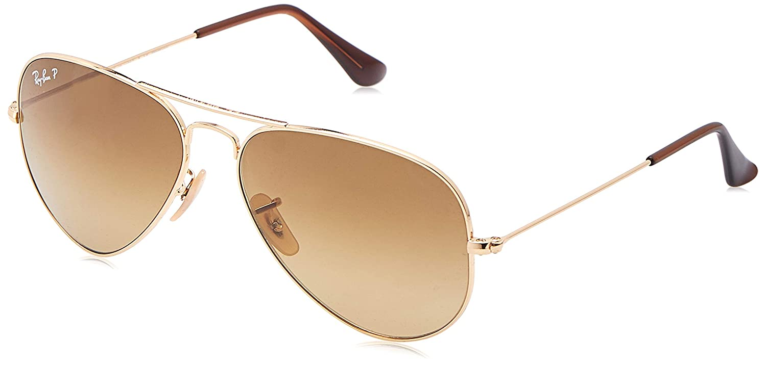 Amazon.com: Ray-Ban RB3025 Aviator anteojos de sol: Ray-Ban ...