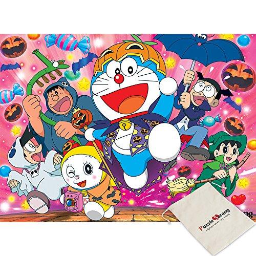 Puzzle Life,Doraemon Halloween Festival - Fujiko Fujio/500 Piece Jigsaw Puzzle [Pouch Included]