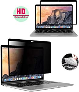 YBP MacBook-pro 13 Inch Privacy Screen - Easy On/Off,New HD Removable Privacy Screen for MacBook Pro 13(2016~2020) MacBook Air 13.3 2018(A1989),2020(A2179)