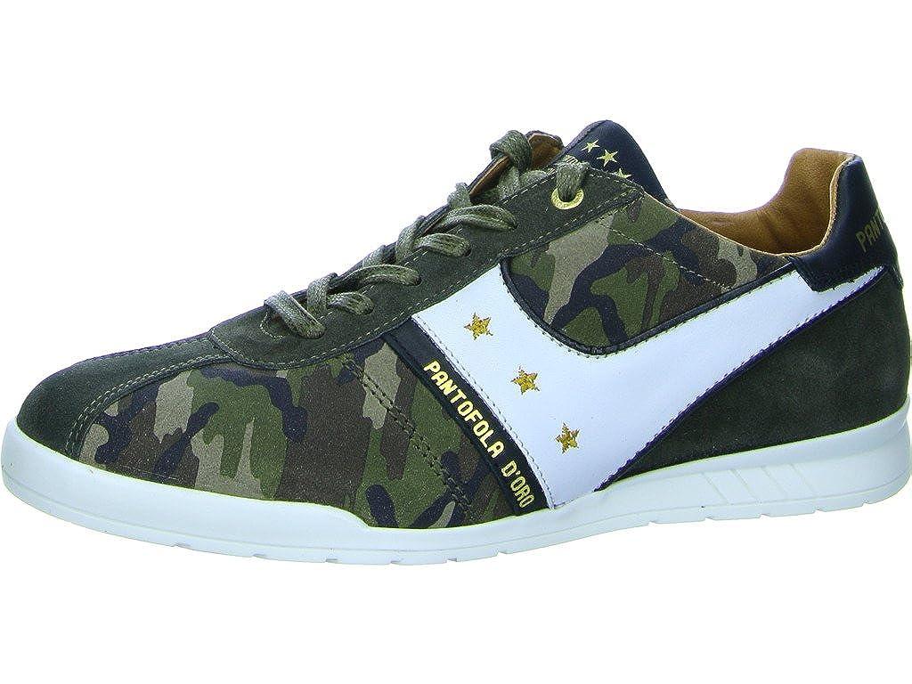 Pantofola d` Gold Herren Turnschuhe 10181035.52A Olive grün 426781