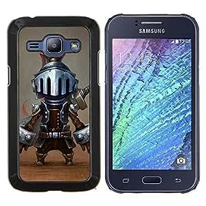 Dragon Case - FOR Samsung Galaxy J1 J100 J100H - tiny knight funny character cartoon game - Caja protectora de pl??stico duro de la cubierta Dise?¡Ào Slim Fit