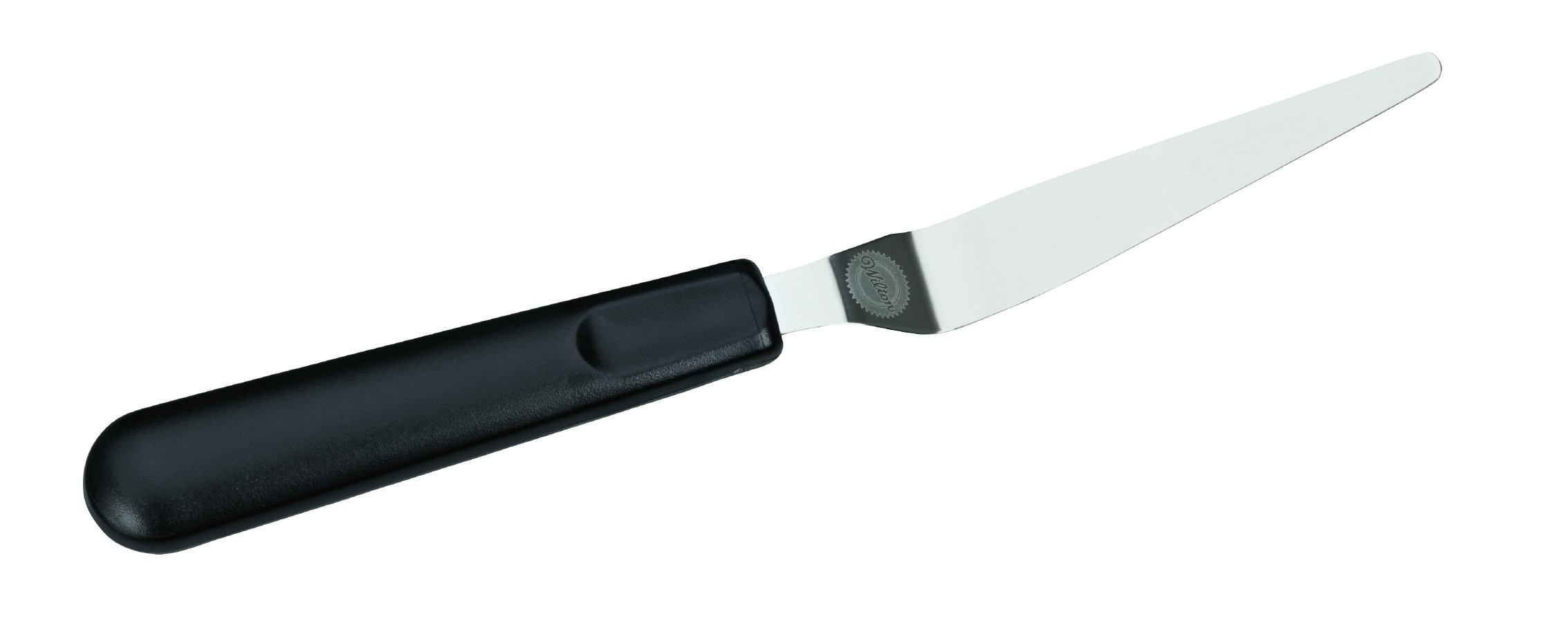 Wilton 409-7714 Tapered Icing Spatula, 9-Inch, Black