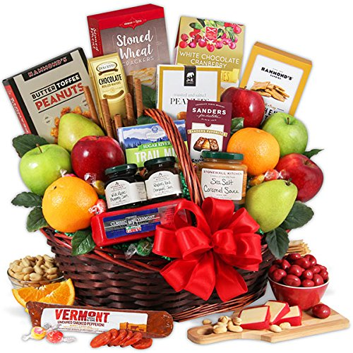 Bountiful Harvest - Fruit Gift Basket by GourmetGiftBaskets.com