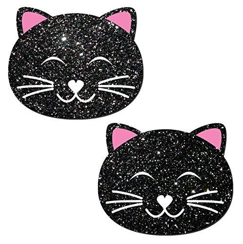 Kitty Nipple Pasties Glitter Pastease product image