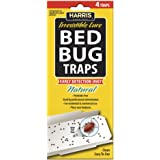 Harris Bed Bug Early Detection Glue Traps (4/Pack)