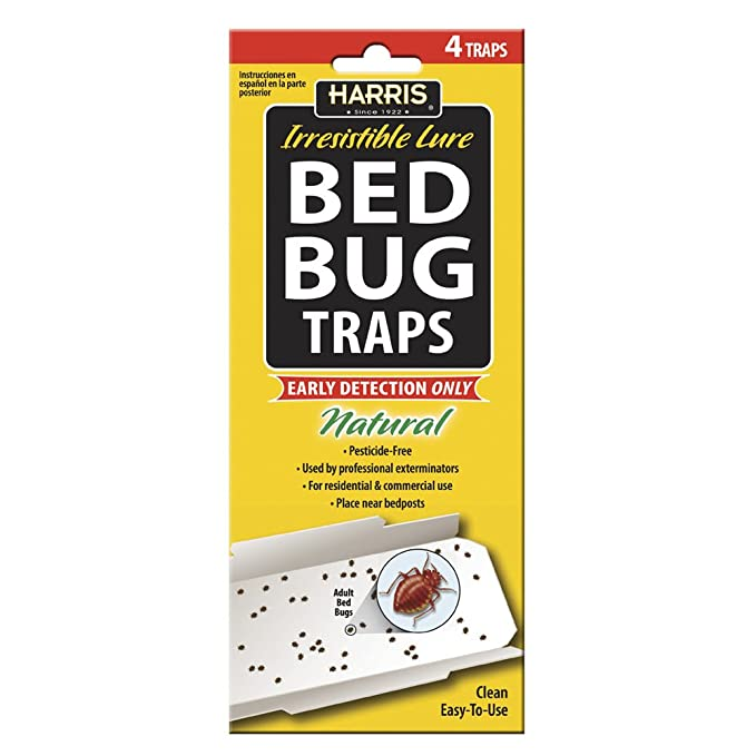 Amazon Com Harris Bed Bug Early Detection Glue Traps 4 Pack