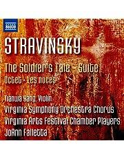 Stravinsky: The Soldier's Tale Suite - Octet - Les noces