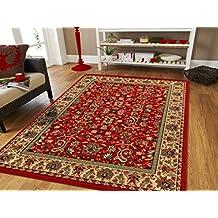 Large Area Rug Oriental Carpet 2x8 Runner Rugs Living Room Rugs 2x7 Runners  Red Rugs Area