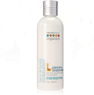 product image for Nature's Baby Organics Face And Body Moisturizer, Fragrance Free, 8 oz