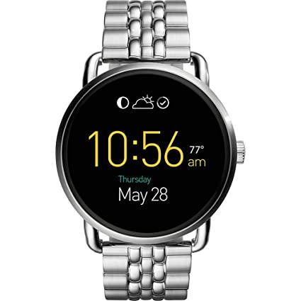 a9f33c440116 Fossil Q Wander Stainless Steel Touchscreen Smartwatch  Amazon.in   Computers   Accessories