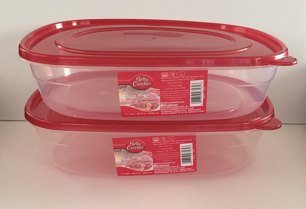 Food Storage Containers Betty Crocker XL 96 Oz. Set Of 2