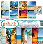 Ella & Viv by Reminisce EAV-859 Just Beachy Paper Collection Kit