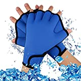 A-szcxtop Diving Webbed Gloves Aquatic Exercise Water Resistance Swim Gloves Fingerless Swimming Hand Webbed for Swimming Training