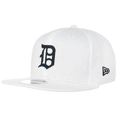 New Era Mujeres Gorras / Gorra Snapback Linen Felt Detroit Tigers ...