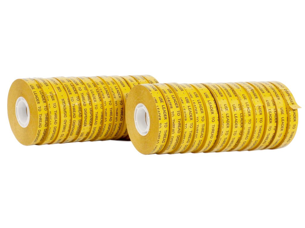 WOD ATG-7502 General Purpose ATG Tape, Adhesive Transfer Tape Glider Refill Rolls Clear Adhesive on Gold Liner (Acid Free and Available in Multiple Sizes): 1/2 in. Wide x 36 yds. (Pack of 24)