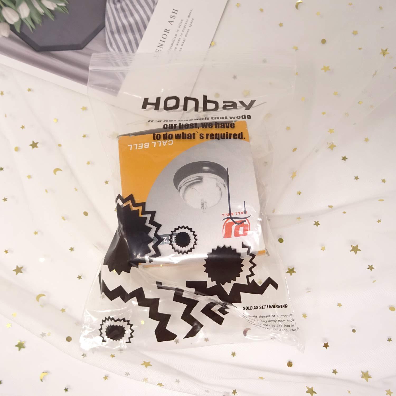 Green Flower Honbay 3.3inch Call Bell Customer Service Bell Game Bell Pet Training Bell C