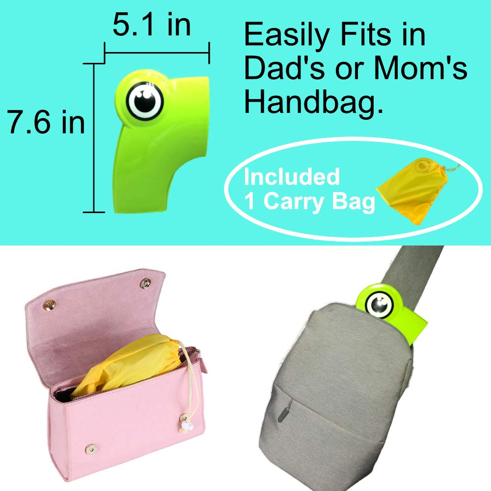 Folding Toilet Seat Cover Travel Potty Training seat for Baby Boy Girl Toddler Kid Upgrade 6 Non Slip Pad FABUDERFUL Portable Potty Seat for Toddler