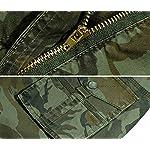 Panegy Adultes Combat Shorts pour Homme/Garçon Coton Bermudas Treillis Militaire Cargo Armée Pantalon de Travail… 11