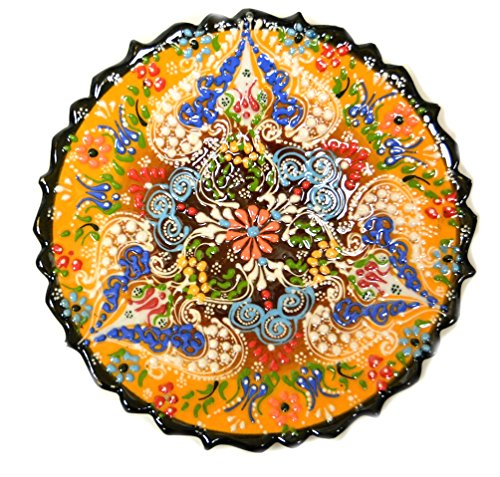 Turkish ceramic plates turkish ceramics hand painted for Where to buy ceramic plates to paint