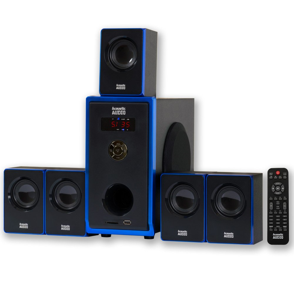 acoustic home theater surround sound audio speaker system. Black Bedroom Furniture Sets. Home Design Ideas