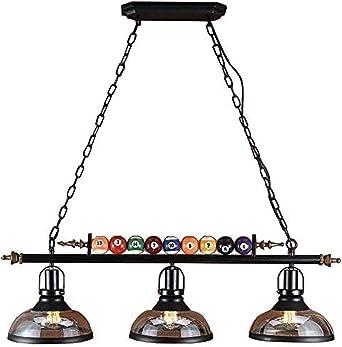 Lámpara colgante Billar estilo restaurante bar tienda de ropa ...