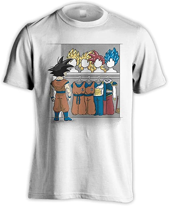 Dragon-Ball+Z Goku Casual Printed Cotton Single-Sided Printing Pocketless Sweater for Women