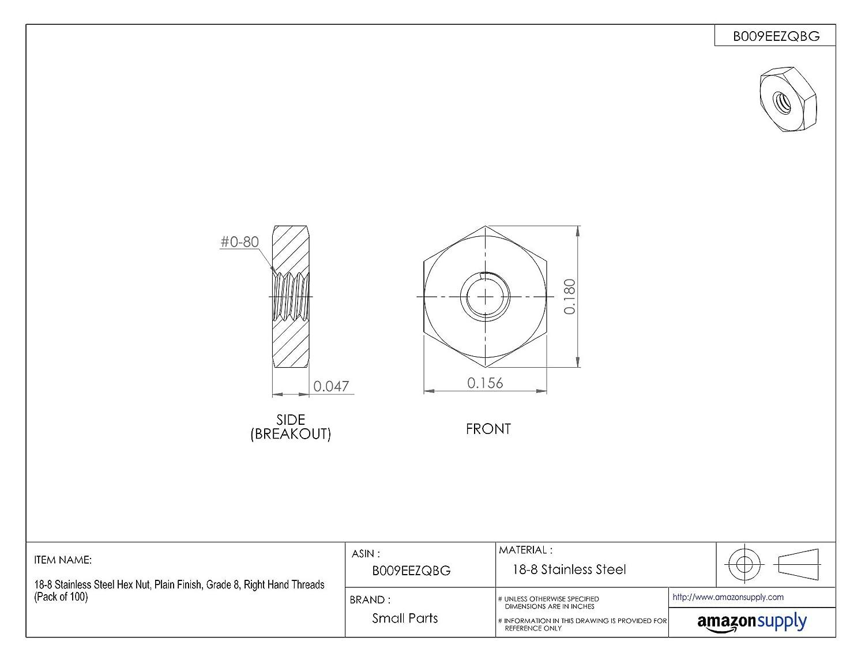 Hard-to-Find Fastener 014973100261 Coarse Hex Bolts Piece-100 5//16-18 x 3//4
