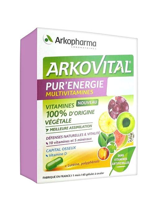 Arkopharma Arkopharma ArkoVital PurEnergie Multivitaminas ...
