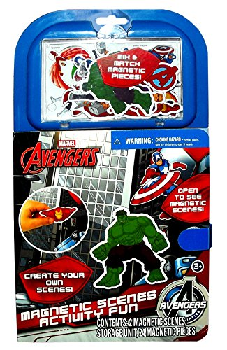 Marvel Avengers Magnetic Scenes Activity Fun Book, (Magnetic Activity Book)