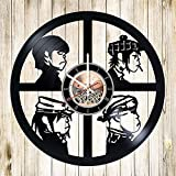 Gorillaz Band HANDMADE Vinyl Record Wall Clock - Best Reviews Guide