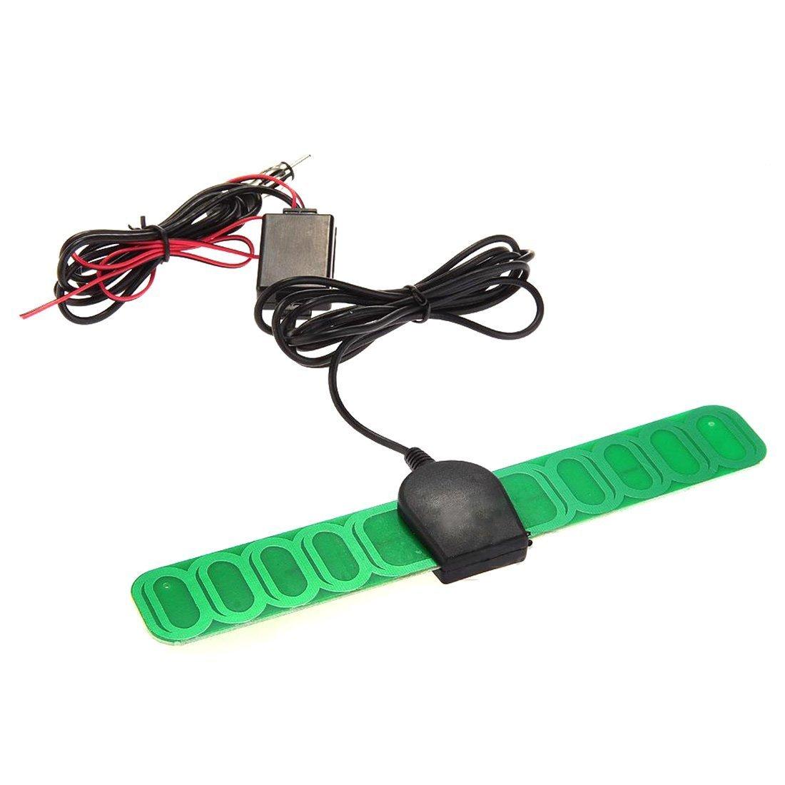 Coche AM/FM Antena de radio amplificador de señal Booster DC Vehículo 12V Durable Amp Auto Luwu-Store LEPACA1375