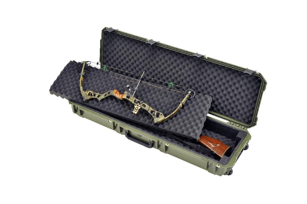 SKB Injection Molded 495-Inch Double Bow/Rifle Case (OD Green)
