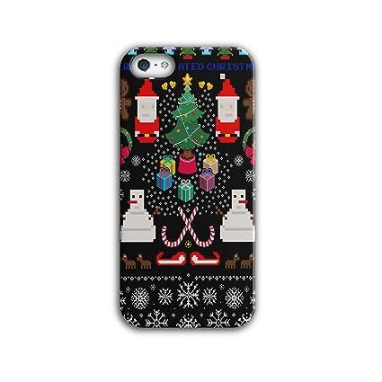 Immagini Di Natale Per Iphone 5.Babbo Natale Pupazzo Di Neve Di Natale Pixel Babbo Natale 3d Iphone